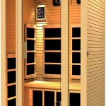 This JNH 2 Person Sauna makes sure winter can't affect you