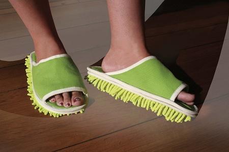Microfiber Dusting Slippers