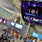 LG showcases world's largest OLED display