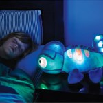 Glowing Plush Bedtime Chameleon gives off a comforting light