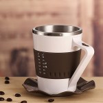 The Temperature Display Mug helps you get the most out of your coffee