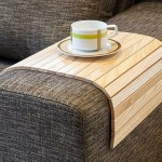 This Sofa Tray Table lets you sip tea and read in peace