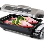 Odor Eliminating Fish Roaster gets the job done in style