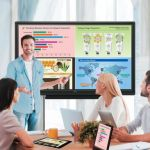 Sharp reveals pair of AQUOS BOARD interactive display systems