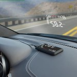 Windshield Heads Up Display makes driving more space age