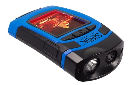 The Seek Thermal imaging flashlight