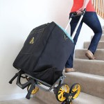Stair Stepping Smarter Cart eases lugging heavy stuff up the stairs