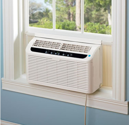 world s quietest window air conditioner is whisper quiet. Black Bedroom Furniture Sets. Home Design Ideas