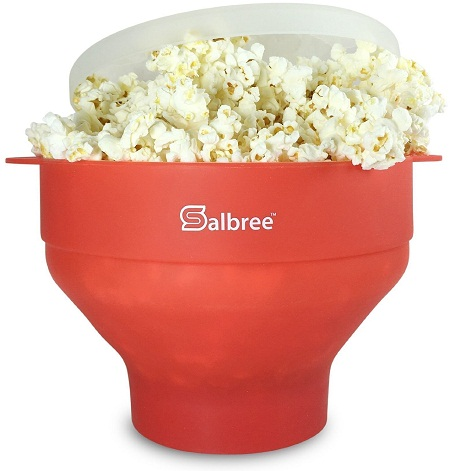 Salbree Silicone Microwave Popcorn Maker