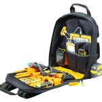 The Dewalt Backpack is for tools and tech