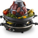 This Electric Raclette Party Grill is not, in fact, a torture device