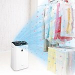 The Sharp Plasmacluster Dehumidifer tackles moisture
