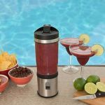 Rocket Bottle Plus is a portable rechargeable blender