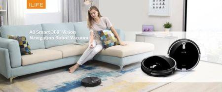 - ILIFE A8 - ILIFE reveals the A8 robotic vacuum » Coolest Gadgets