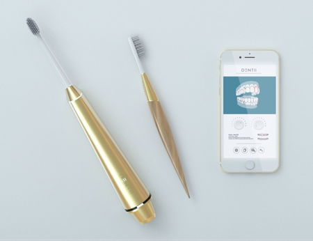 - dentii - Smart Dentii toothbrush ready for Kickstarter launch » Coolest Gadgets