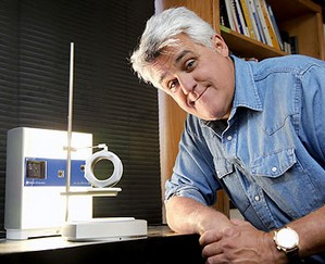 Jay Leno uses 3D gadgets to replace obsolete parts in his car collection.