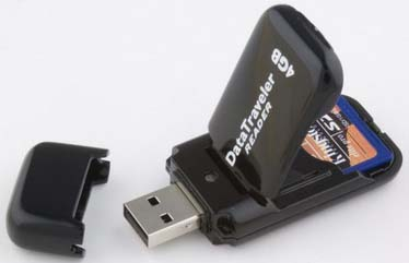 USB Drive with Memory Card
