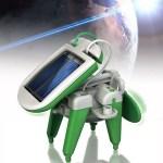 The 6-in-1 Solar Robot Kit
