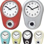 The Kitchen Timer Retro Wall Clock