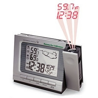 Projection Alarm Clock and Weather Monitor