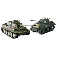 Remote Control Authentic WWII Battling Tanks