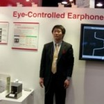 "NTT Docomo shows off ""Eye-Controlled Earphones"" at CTIA 2010"