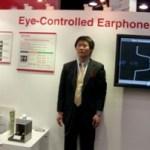 "NTT Docomo shows off ""Eye-Controlled Earphones"" at CTIA 2010"
