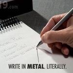 Inkless Metal Pen