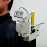 The Wearable Telecommunicator is like having a little friend on your shoulder