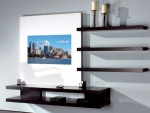 TV Mirror Wall Unit: AdNotam's Multimedia Mirror Furniture