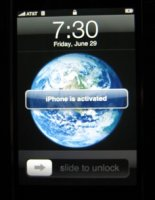 activated iPhone