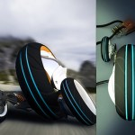 Phase 2.0 Three-wheeled concept vehicle