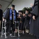 Exoskeleton lets UC Berkeley graduate walk for his graduation