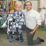 Diego-san: The working robot with the freaky baby head