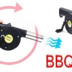 Barbecue Hand Crank Fire Air Blower BBQ Accessory