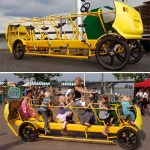 Pedal Powered School Bus ready to combat childhood obesity
