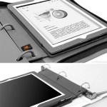 ZooGlue BinderPad case puts an iPad in your three-ring binder