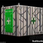 Portable Bunker aims to save lives in forest & bush fires