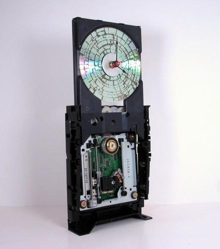 CD Drive Clock