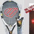 Tennis Racquet From Control Freek