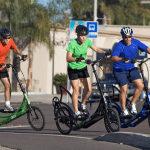 The ElliptiGO combines running and biking
