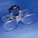 Eight Diopter Clip On Magnifier