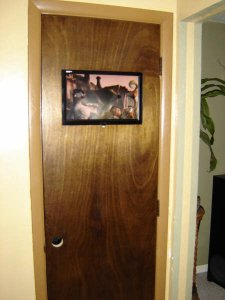 Digital Picture Frame Door