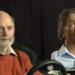Charles the GPS robot can read a driver's expressions
