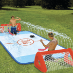 Slip 'N Slide Hockey Rink