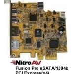 NitroAV Fusion Pro 5-Port PCI Express (x4) eSATA/1394b Combo Host Adapter