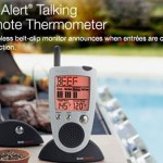 Wireless grilling thermometer means freedom