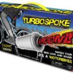 "Turbospoke – Bicycle ""exhaust"" system"