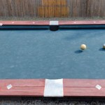 Mix Bowling and Pool with the game of Knokkers (yeah, that's what it's called)