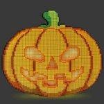 8-Bit LED Jack O'Lantern